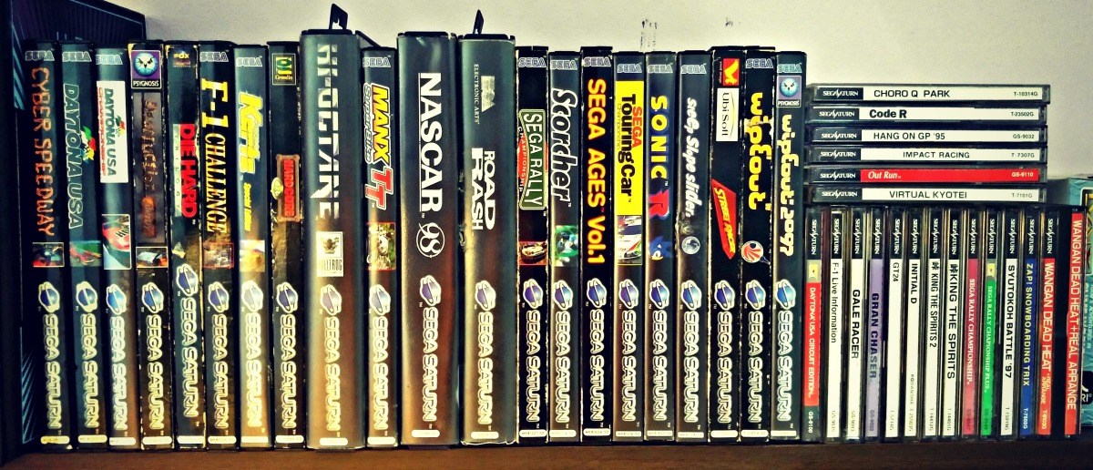 RETRO GAMER LIFE: My Quest For A Complete SEGA Saturn Racing