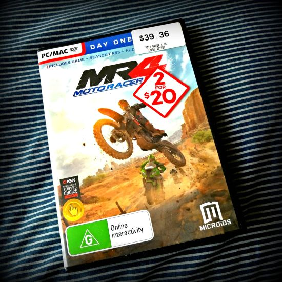 PICK UPS AND PLAY – Moto Racer 4 (PC) // Trackmania Turbo